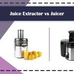 Juice Extractor vs Juicer