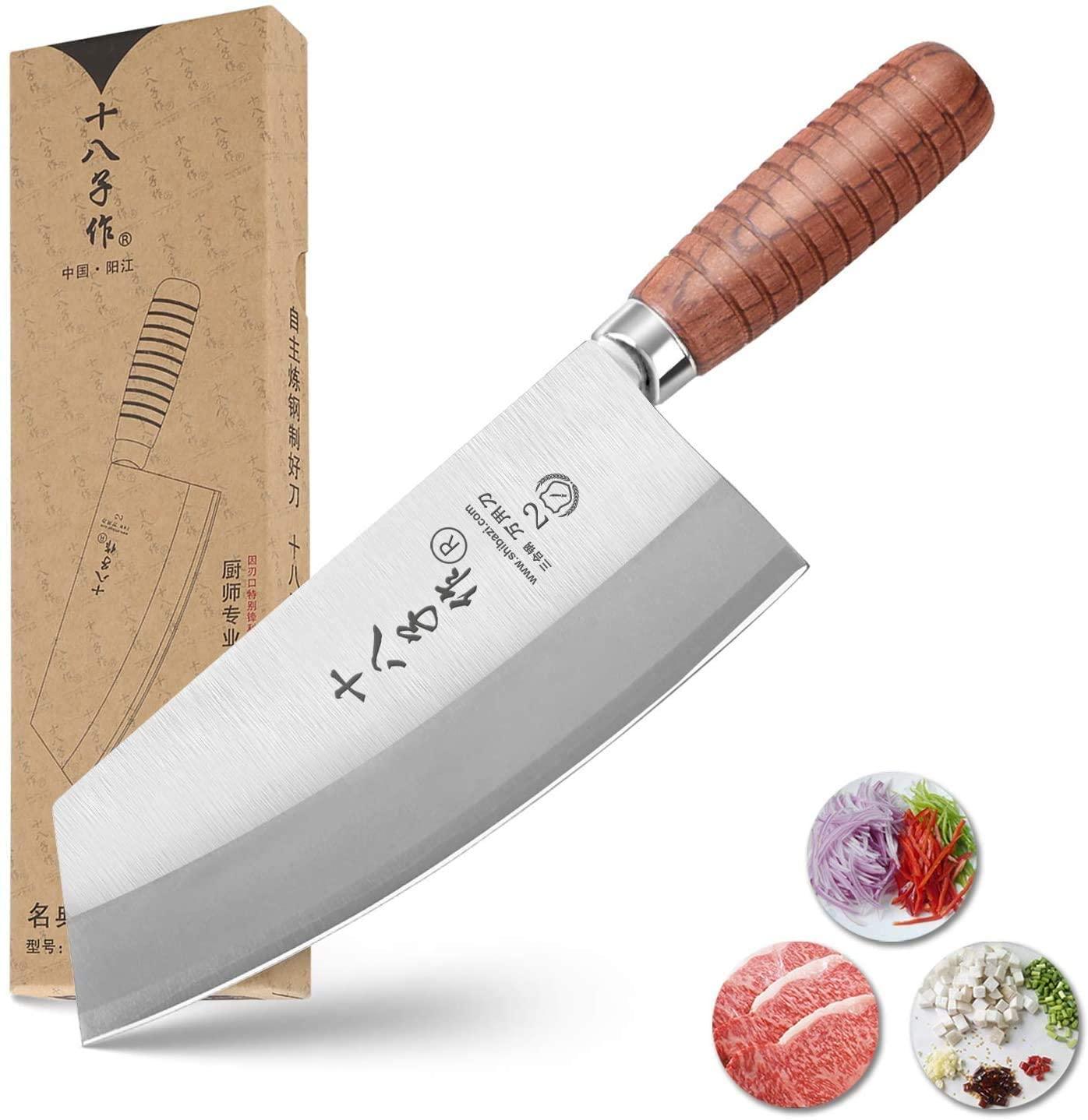 SHI BA ZI ZUO Chinese Chef's Knife